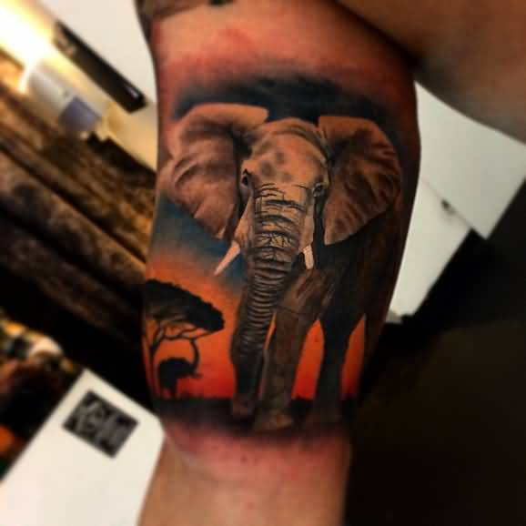 Best African Sleeve Tattoo Ever