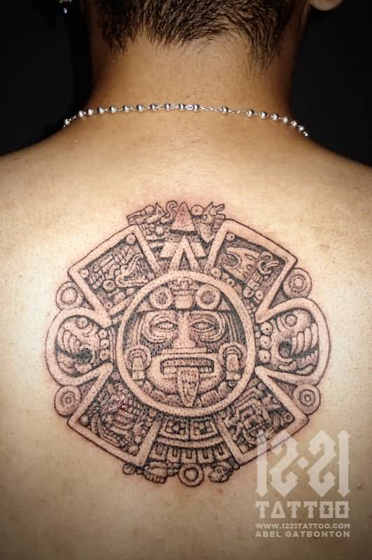 aztec mask tattoo ideas and aztec mask tattoo designs page 3. Black Bedroom Furniture Sets. Home Design Ideas