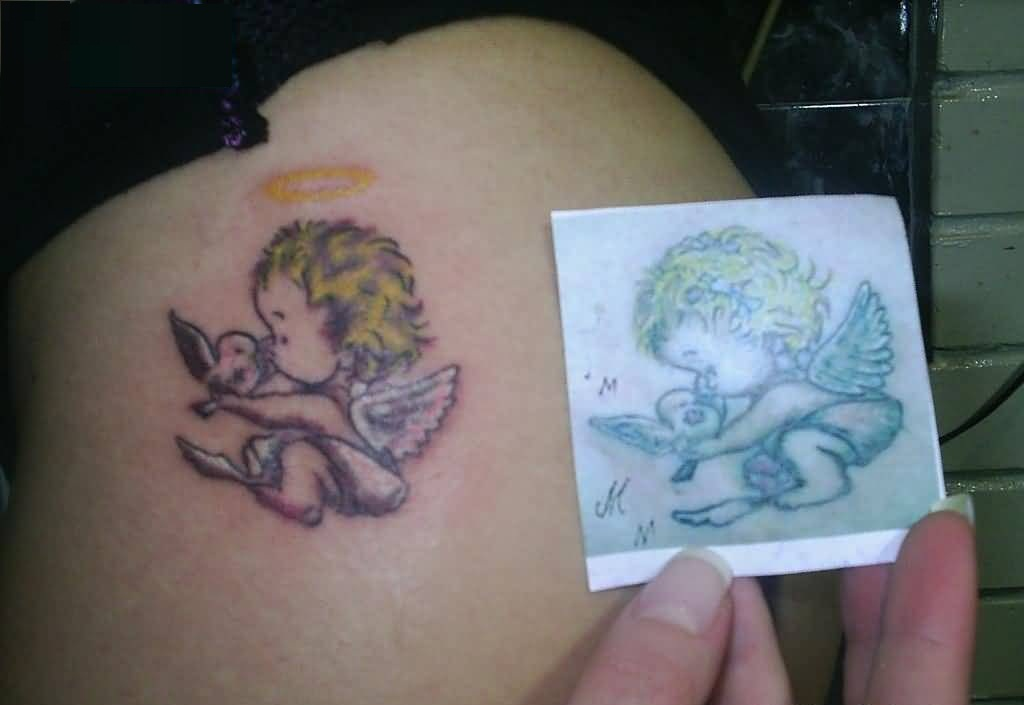 Baby tattoo ideas and baby tattoo designs page 2 for Cute baby tattoos