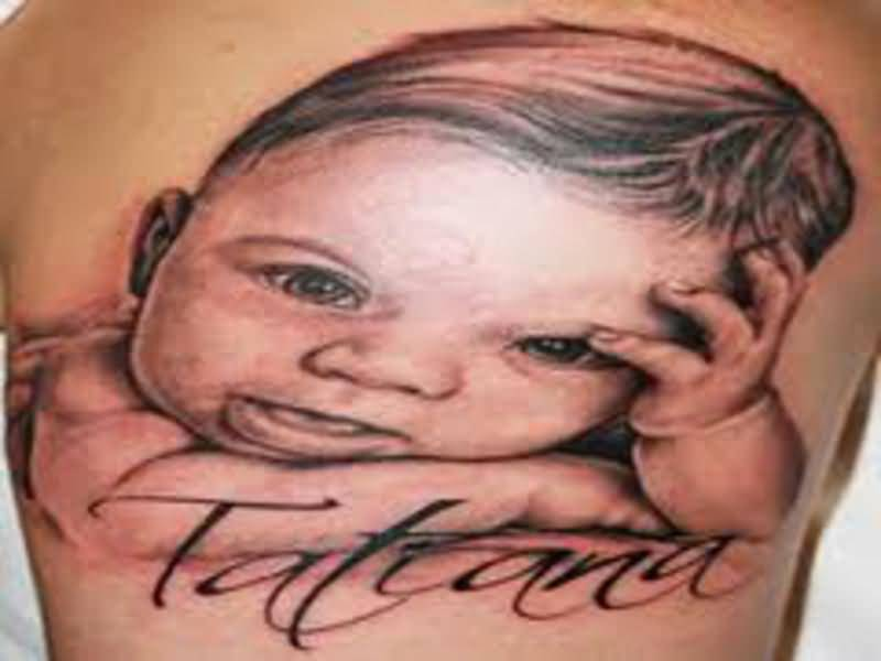 Baby name tattoo ideas and baby name tattoo designs page 5 for Cute baby tattoos