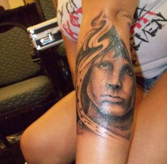 Famous Band King Tattoo On Arm