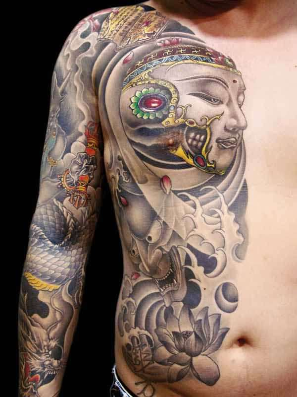 Asian men tattoo ideas and asian men tattoo designs page 10 for Oriental tattoo
