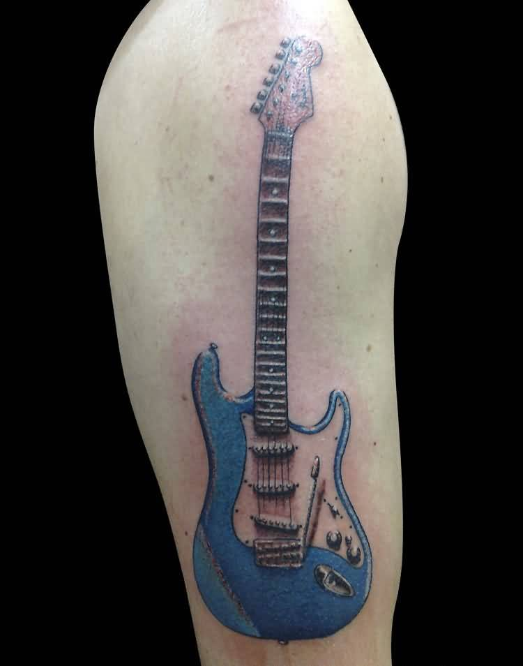 Guitar tattoo ideas and guitar tattoo designs page 2 for Electric hand tattoo