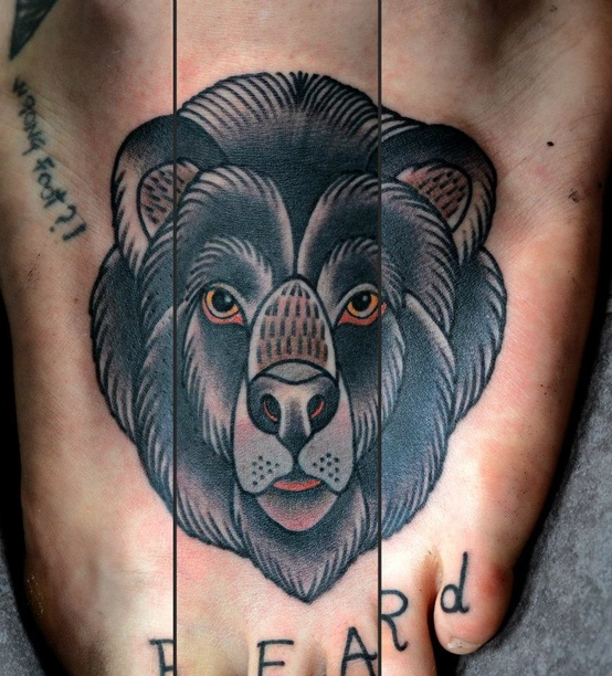 Bear Leg Tattoo Ideas and Bear Leg Tattoo Designs | Page 2