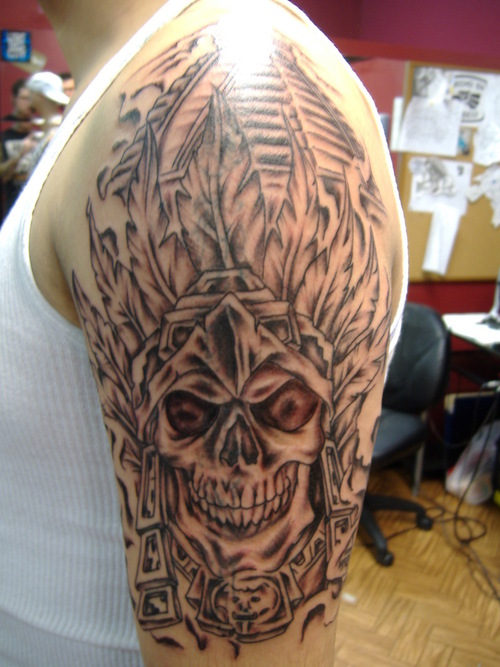 Aztec Sleeve Tattoo Ideas and Aztec Sleeve Tattoo Designs ...