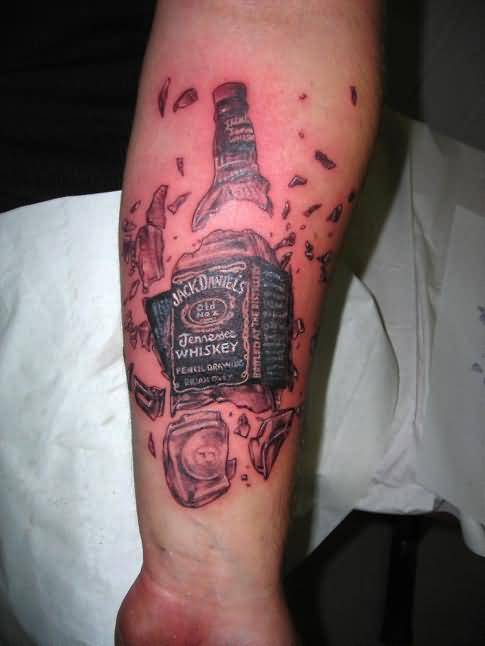 whisky bottle tattoo ideas and whisky bottle tattoo designs page 5. Black Bedroom Furniture Sets. Home Design Ideas