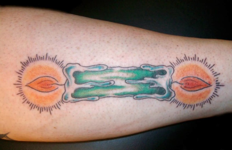 Dual burning candle tattoo art and designs page 2 fabulous dual burning candle tattoo made by artist 1 sciox Images