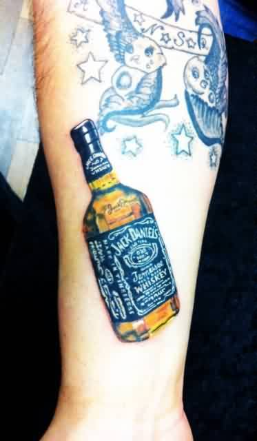 whisky bottle tattoo ideas and whisky bottle tattoo designs page 6. Black Bedroom Furniture Sets. Home Design Ideas