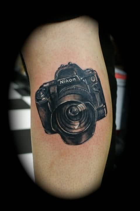 Famous Nikon Camera Tattoo Made By Ink 2