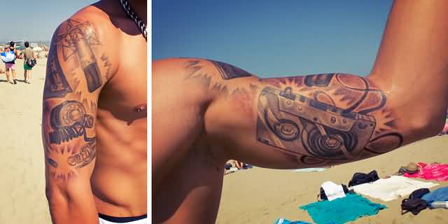Inner bicep tattoo ideas and inner bicep tattoo designs for Inner bicep tattoos for guys