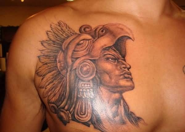 Tattoos For Men Aztec Warrior Tattoo Design Tattooshuntercom
