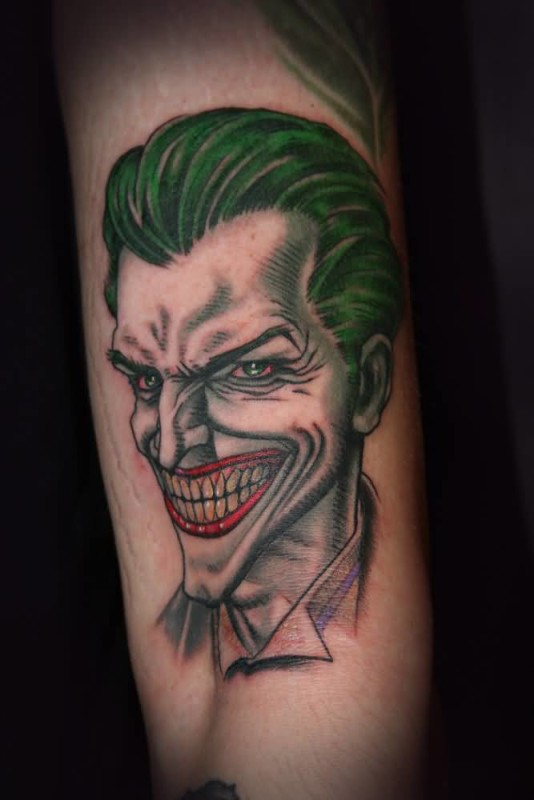 Clown face tattoo ideas and clown face tattoo designs page 5 for Clown tattoos for men