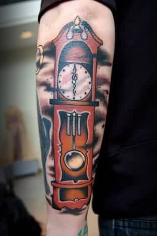 Clock Men Tattoo Ideas and Clock Men Tattoo Designs | Page 4