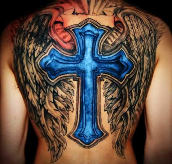 f3b418ad6 Cross Wings Tattoos - Images, Pictures - Page 2 -Tattoos Hunter