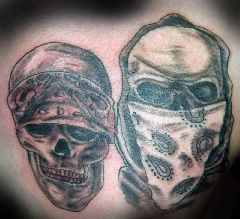 Latest Cowboy Skull Tattoo  Design Made By Ink