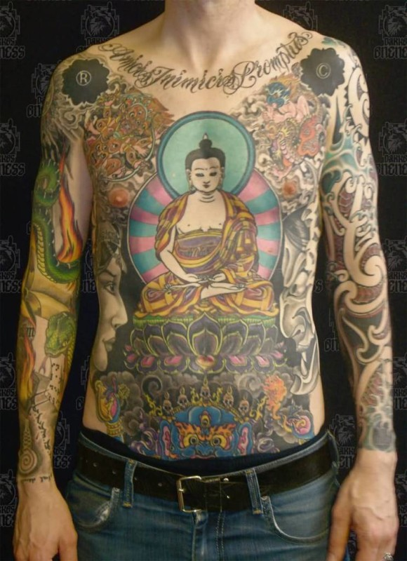 Chest writing tattoo ideas and chest writing tattoo for Chest cover up tattoos