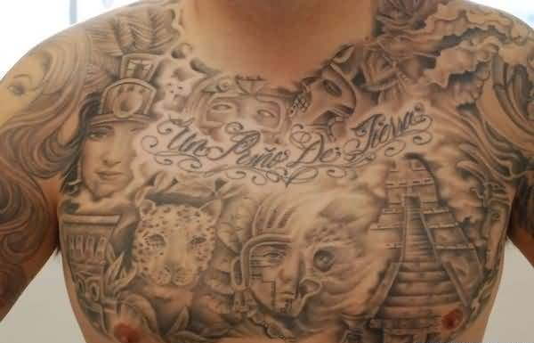 Chest Tattoo Ideas And Chest Tattoo Designs
