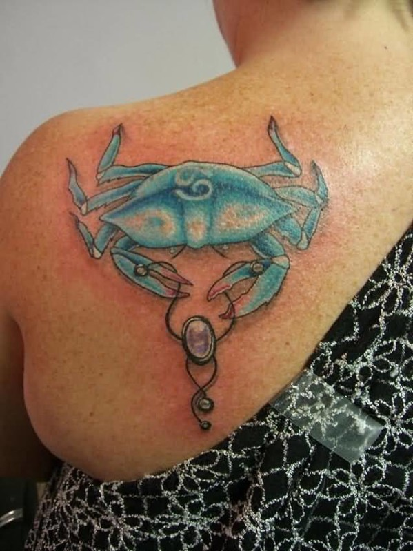 Crab back tattoo ideas and crab back tattoo designs for Blue crab tattoo
