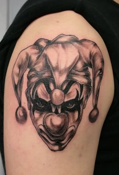 clown sleeve tattoo ideas and clown sleeve tattoo designs. Black Bedroom Furniture Sets. Home Design Ideas