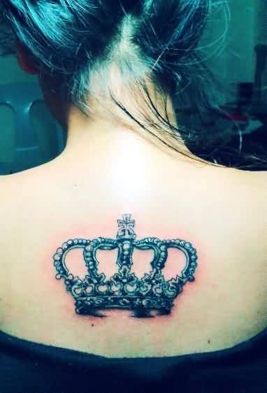 Brilliant Crown Tattoo Design For Pretty Stylish Women