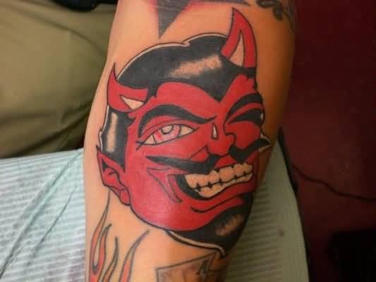 scary devil tattoo ideas and scary devil tattoo designs page 5. Black Bedroom Furniture Sets. Home Design Ideas