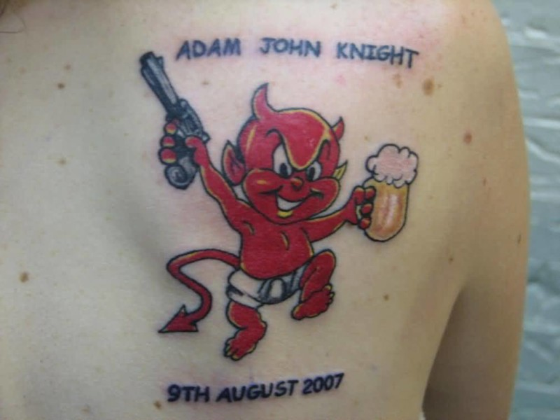 Devil Back Tattoo Ideas and Devil Back Tattoo Designs | Page 2