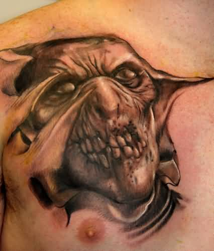 Scary Death Tattoos Images Pictures Page 2 Tattoos
