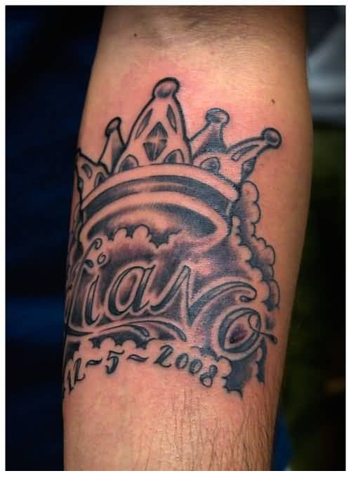 Lower sleeve cover up with fabulous pink crown tattoo for Crown tattoos on lower back