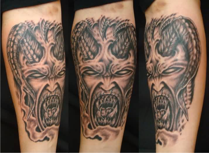 Demon Face Tattoo Ideas and Demon Face Tattoo Designs | Page 2
