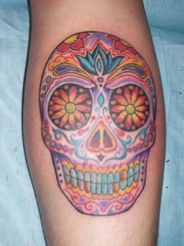 Nice One Dia De Los Muertos Sugar Skull Tattoo Design Made By Perfect Artist
