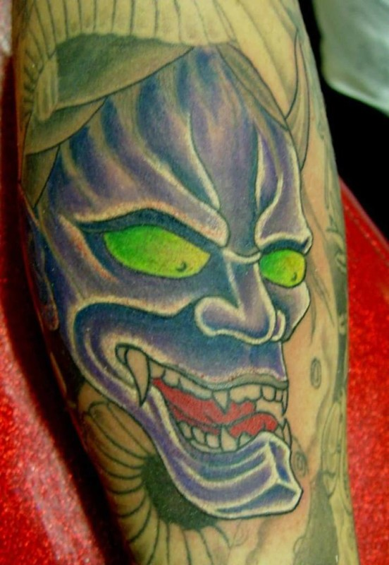 devil face tattoo ideas and devil face tattoo designs page 2