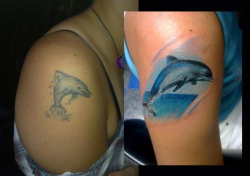 Jumping Dolphin Tattoo Ideas and Jumping Dolphin Tattoo ...