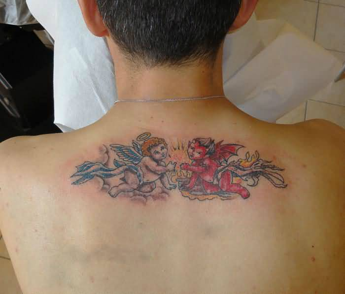 Devil Back Tattoo Ideas and Devil Back Tattoo Designs | Page 3