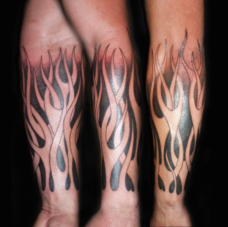 Fantastic Fire n Flame Tattoo Image Made By Perfect Artist