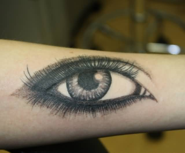 Marvelous Simple Eye Tattoo Made By Perfect Artist
