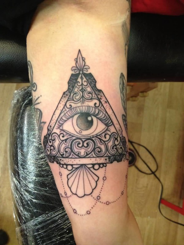 Mind Boggling Traditional Eye Tattoo Design Image