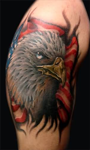 Realistic Eagle Head American Eagle Tattoo Design Image Made By Perfect Artist