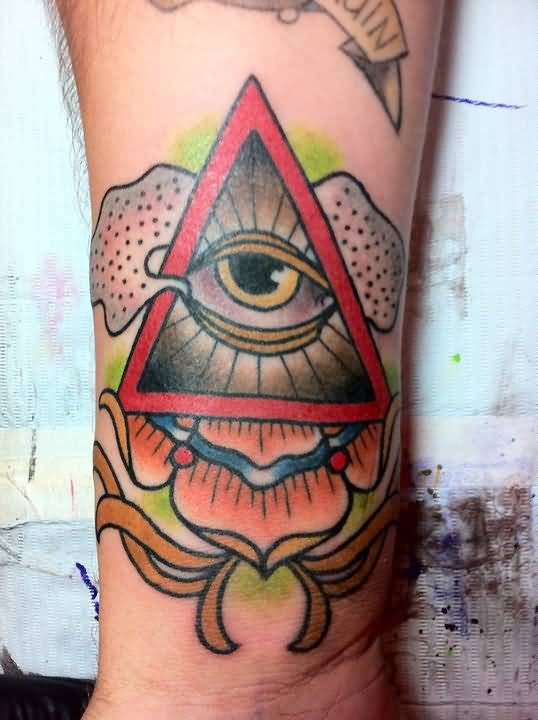 Gallery For gt Traditional Eye Tattoo Designs