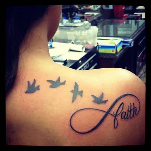 Faith women tattoo ideas and faith women tattoo designs for Infinity sign tattoo cover up