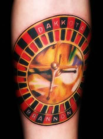 Brilliant Gambling Casino Tattoo Design Made By Perfect Artist