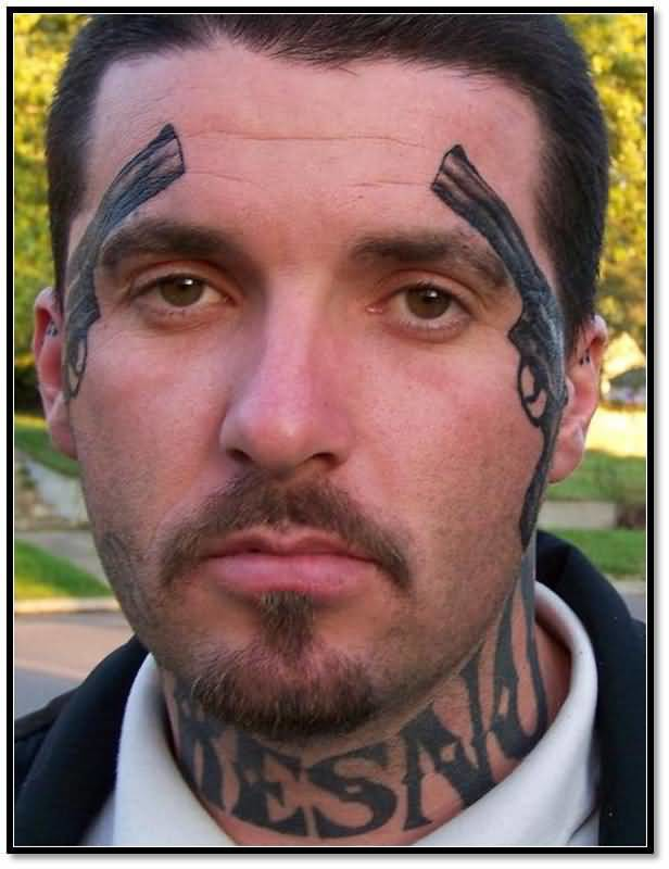 Cool Face Tattoos: Page 2 -Tattoos Hunter