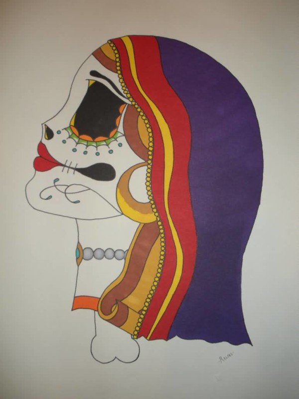 Latest Gypsy Tattoo Design Image Make On Paper