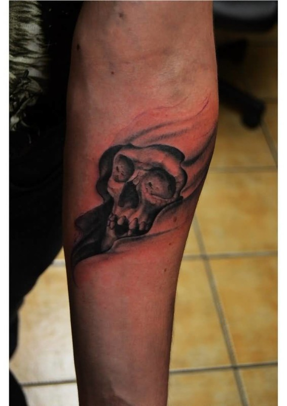 Lower Sleeve Ultimate Grim Reaper Tattoo Made By Perfect Artist