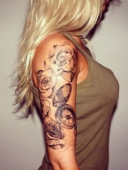 Half sleeve women tattoo ideas and half sleeve women for Arm tattoos for females