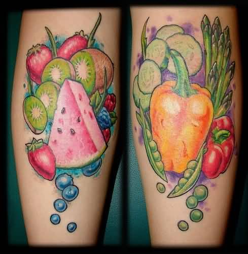 Simple Nice One Fruits Tattoo Design Image Made By Ink