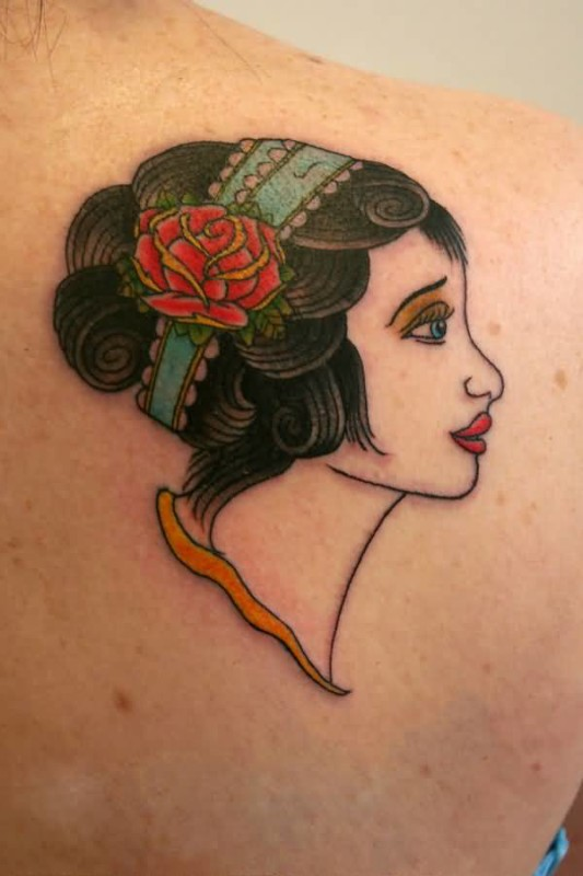Girl back tattoo ideas and girl back tattoo designs for Side back tattoo