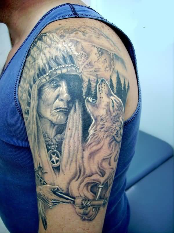 Indian sleeve tattoo ideas and indian sleeve tattoo for Indian ink tattoo