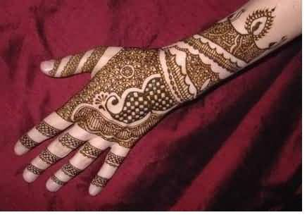 Mens Mehndi Tattoo : Coolest full hand amazing henna tattoo design for cool men
