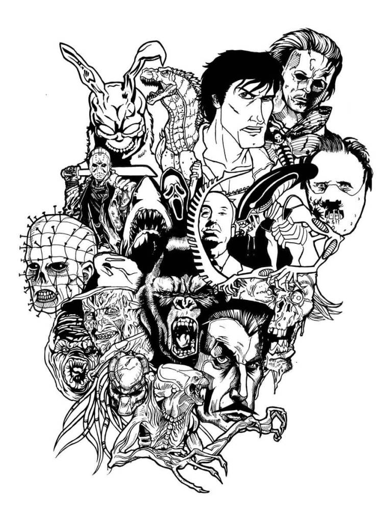 Horror Men Tattoo Art And Designs Page 2