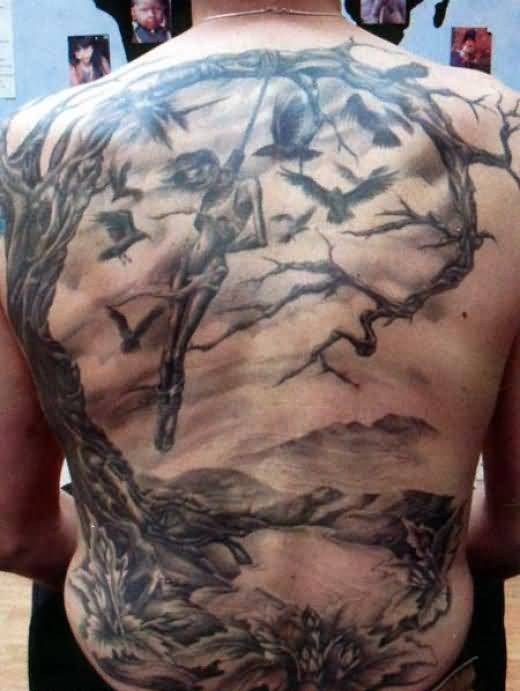 Tattoo ideas and tattoo designs for Simple back tattoos for guys